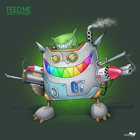 Feed-Me-Death-By-Robot-EP